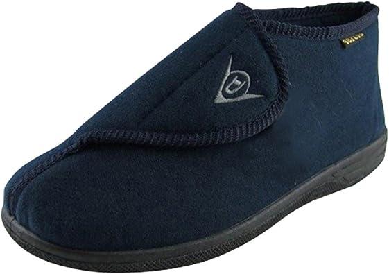 Dunlop Mens Navy Blue Ankle Boot Velcro