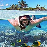 WSTOO Dry Snorkel Set,Anti Fog Snorkel Mask,180