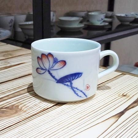 qwdf con Tazas de café Antiguas, vajilla de cerámica Simple ...