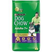 Ração Dog Chow Adulto Longevidade 7+ Frango e Arroz - 3kg Purina para Todas Todos os tamanhos de raça Idosos - Sabor…