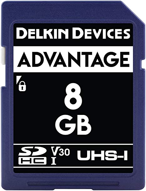 Amazon.com: Delkin – Tarjeta de memoria SDHC de 8 GB 633 x ...