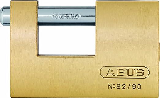 Candado rectangular de lat/ón 90mm blister Abus 82//90 B