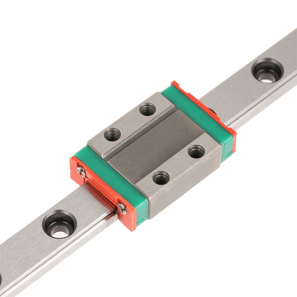 2pcs Slide Blocks Linear Guide Rail YGY-YGY 400mm Linear Guide Rail,Linear Motion Rail Linear Rail Carriage,1pc 400mm LML9B Miniature Linear Rail Guide Rail 9mm Width