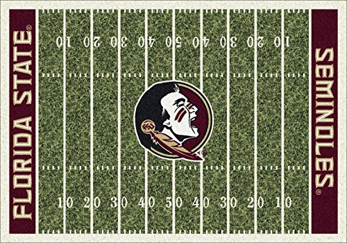 NCAA Home Field Rug - Florida State Seminoles, 3'10'' x 5'4'' by Millilken