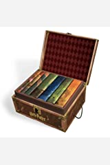 Harry Potter Books Set #1-7 in Collectible Trunk-Like Toy Chest Box, Decorative Stickers Included by Harry Potte Kitchen
