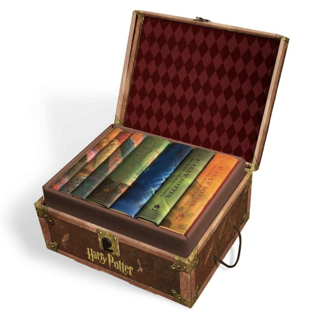 Harry Potter Hard Cover Boxed Set: Books #1-7 by Arthur A. Levine Books