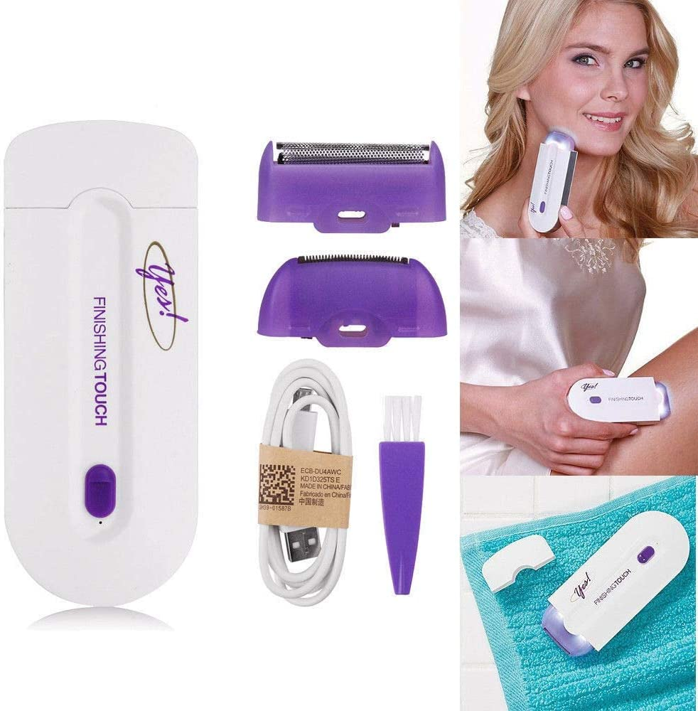 Yes Finishing Touch Hair Remover Pro Seen on TV Instant & Pain Free Remove by Diech.: Amazon.es: Salud y cuidado personal