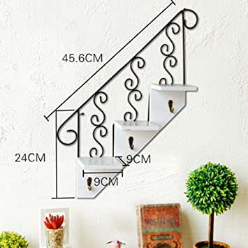 Amazon Com Decoration San Qian Wan Creative Staircase Wall Hanging