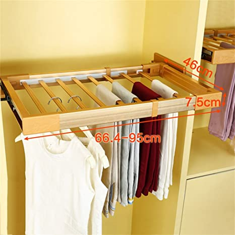 Perchero Pantalones Rack Ajustable Wardrobe Dentro del ...