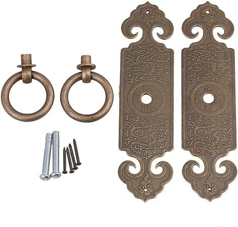 Lot de 2 Aluminium Armoire Placard Porte D Poignée de