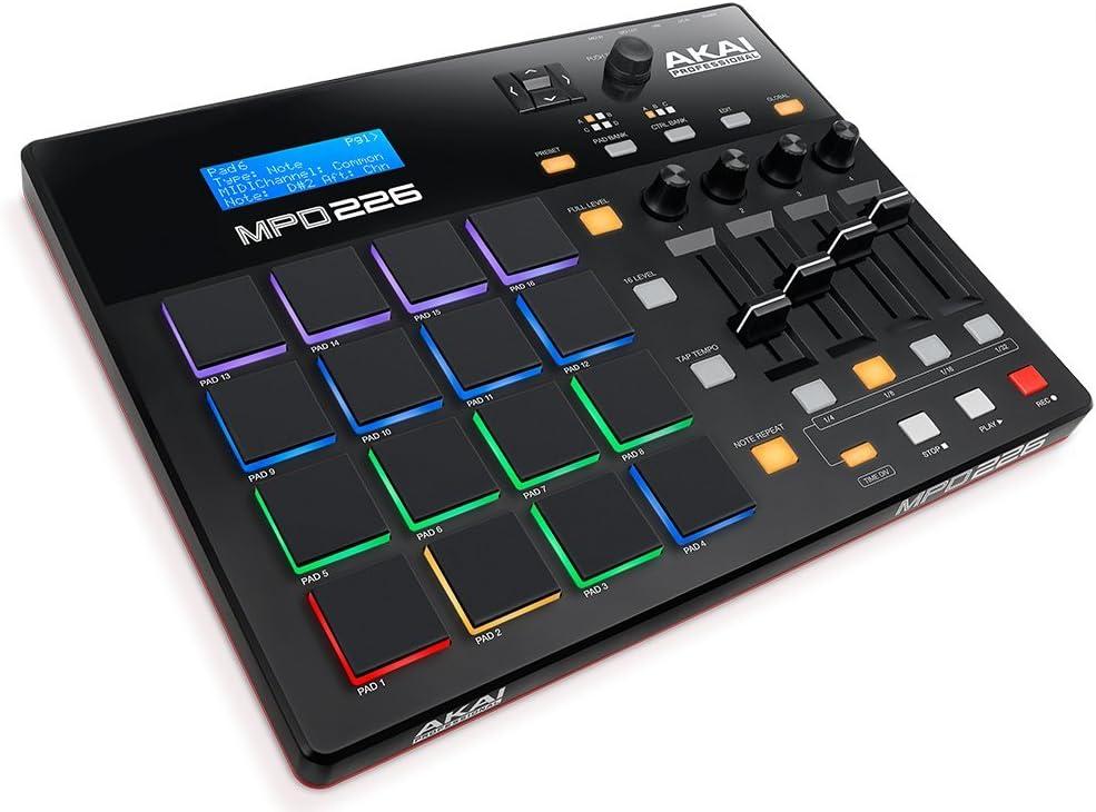 Akai Professional MPD226 | 16-Pad USB/MIDI Pad Controller