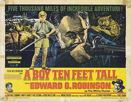 A Boy Ten Feet Preposterous POSTER Movie (1963) Style A 11 x 14 Inches - 28cm x 36cm (Edward G. Robinson)(Fergus McClelland)(Constance Cummings)(Harry H. Corbett)(Paul Stassino)