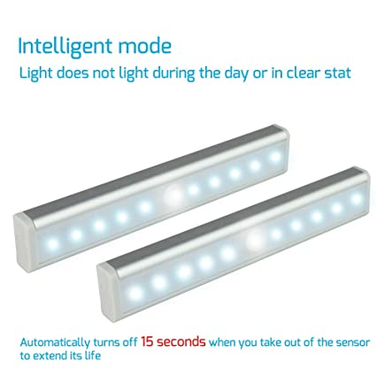 Amazon.com: DIGITNOW Wireless Motion Sensor LED Light, Stick-on ...