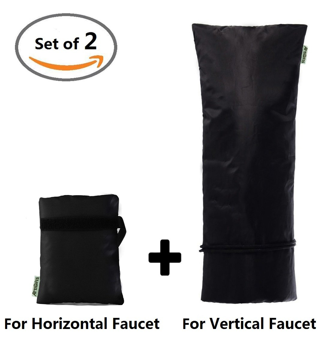 Amazon.com : ArtiGifts Large Outdoor Faucet Cover Socks for Winter ...