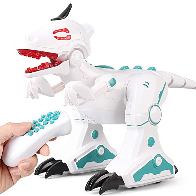 EMONO Smoke Effect Intelligent Dinosaur Toy with Remote Control