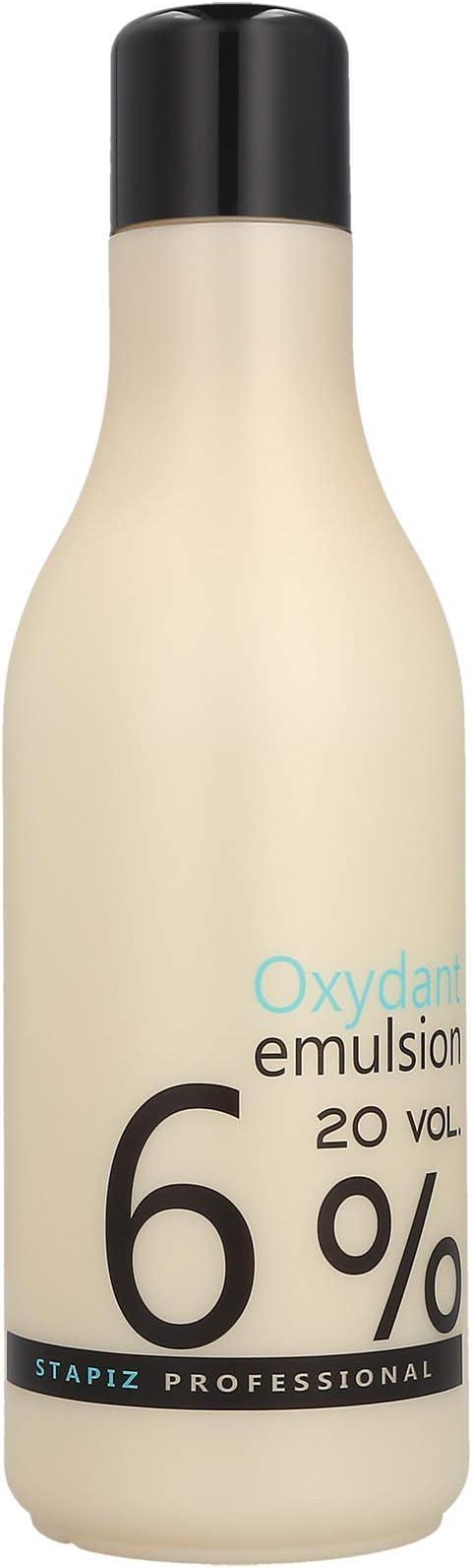 Stapiz Professional Agua Oxigenada en Crema 6%, 1 unidad (1 x 1000 ml)
