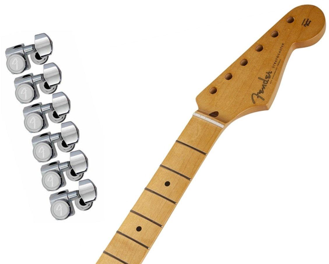 Fender Vintage-Style '50s Stratocaster Soft V Neck - Maple Fingerboard w/ Fender Locking Tuning Machines