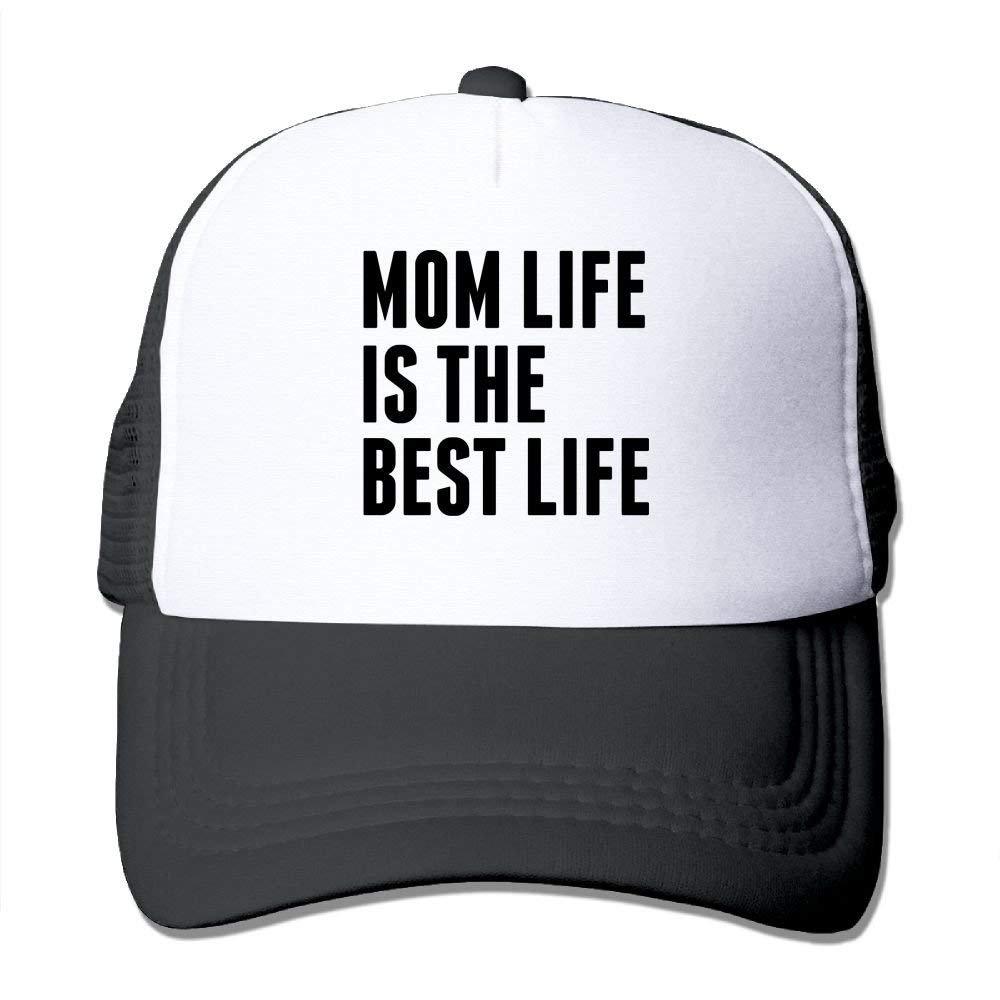 WAZH Classic Baseball Caps Mom Life is The Best Life Mesh Men s Summer  Snapbacks Hat at Amazon Men s Clothing store  260c8709509