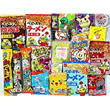 Assorted Japanese Candy Snack Ramune Chocolate Bundle 20 pieces + Konpeito.
