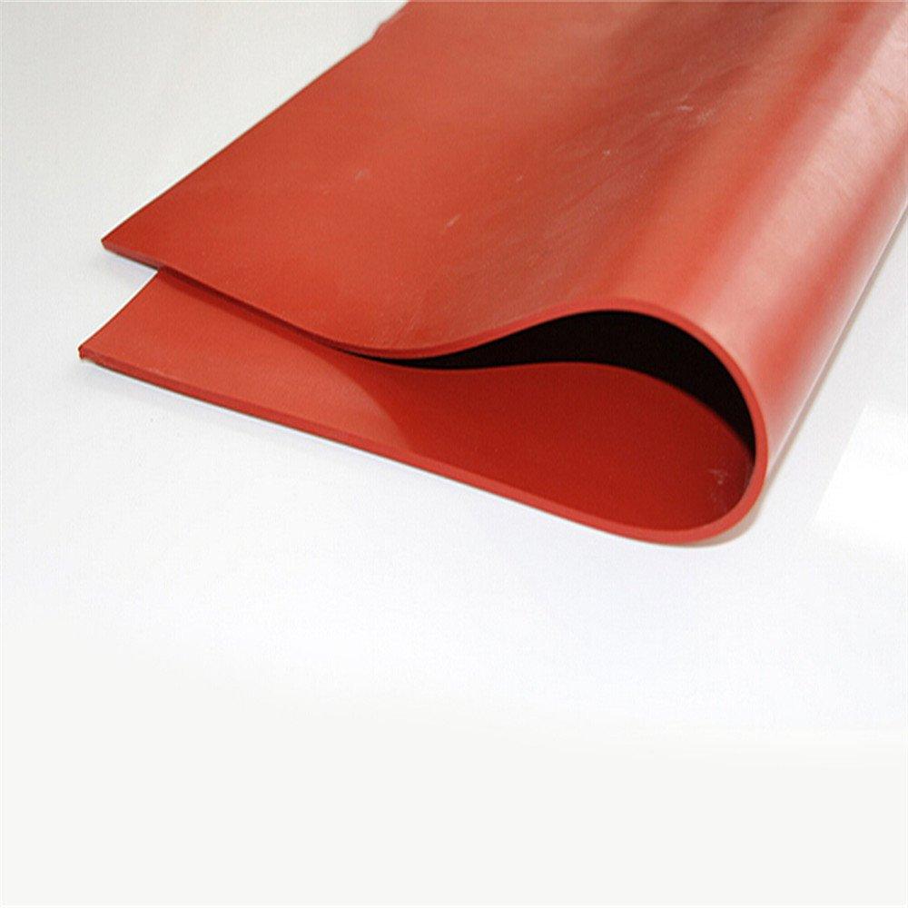 20 'X20' silicone Foglio di gomma Mat Piastra High Temp Commercial Grade 1 millimetro nero duojin