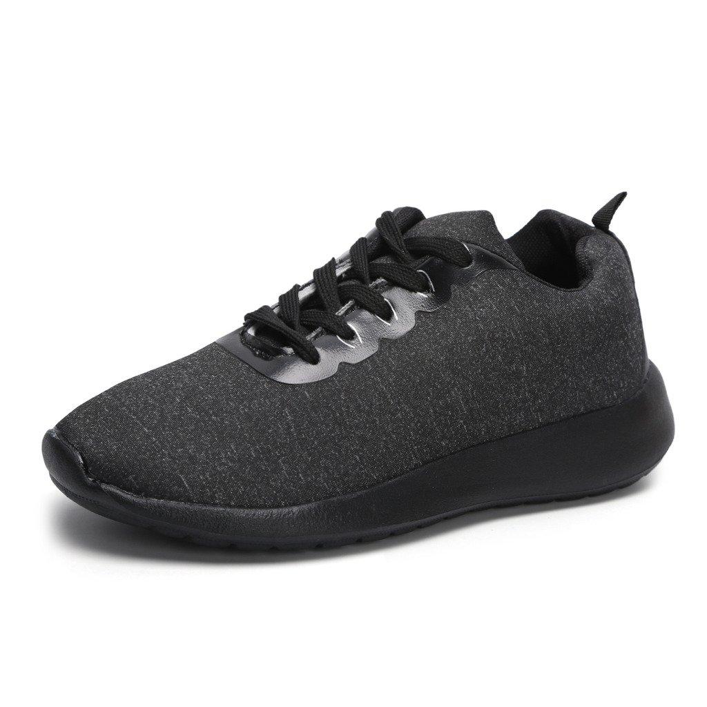 Hawkwell Women's Light Weight Sport Fashion Sneaker B072J43BN9 9.5 B(M) US Black-1