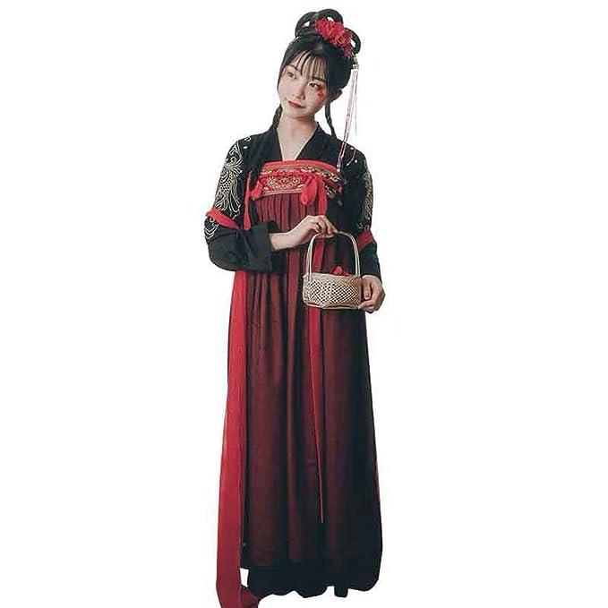 Amazon.com: Disfraz tradicional chino de hada rojo nacional ...