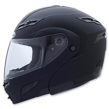 Gmax GM54S Flat Black Modular Helmet, XL