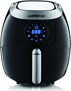 GoWISE USA 5.8-Quart Programmable 7-in-1 Air Fryer, GW22631
