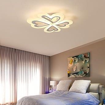 LighSCH Lampes de Plafond Chambre Simple Moderne Et Chaleureuse ...