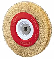 """Alfa Tools WB67151 6"""" Crimped Wide Face Wire Wheel"""
