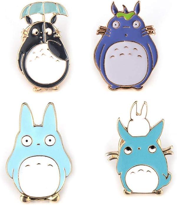 Women Cute Cartoon Dog Enamel Pins Brooch Bag Sweater Badge Kids Gift LC