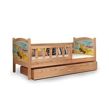Einzelbett kinder  Kinder Bett Einzelbett Kinderbett Kinderzimmerbett TAMI P Kiefer ...