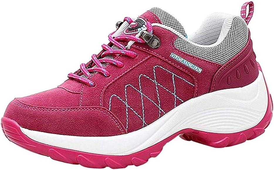 Zapatillas de Deportivo Plataforma para Mujer Otoño Invierno 2018 Moda PAOLIAN Cómodos Senderismo Zapatos de Deportes de Exterior Running Negras Señora Casual Calzado Dama Talla Grande: Amazon.es: Zapatos y complementos