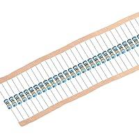 Sourcingmap - Resistencias de película metálica (1/4 W