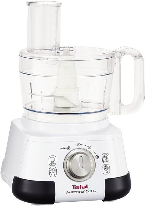 Tefal Masterchef 5000 DO5141 750W 1.25L Gris, Blanco - Robot de cocina (1,25 L, Gris, Blanco, Giratorio, 1,25 L, 2,2 L, Grueso): Amazon.es: Hogar