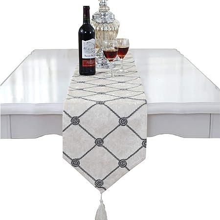 Camino de mesa y manteles individuales, de cuadrados, de Lujo ...