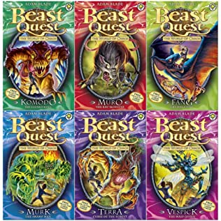 book cover of Beast Quest Series 6