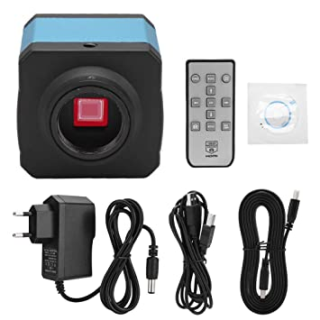 Microscopio Usb,Camara Microscopio HDMI,Cámara Digital Industrial 14MP 1080P HDMI Cámara C-