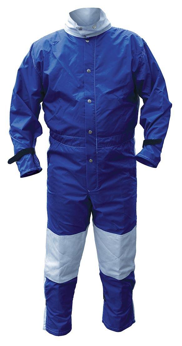 Image of ALC41423 Abrasive Blast Suit, Blue, X-Large Lab Showers