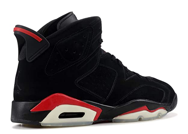 san francisco 74143 6b3bb Amazon.com   Air Jordan 6 (VI) Retro (Black   Varsity Red) 8 D(M) US    Basketball