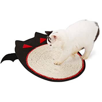 Gorgebuy - Alfombra para Gatos – Juguete rascador para Mascotas de Halloween