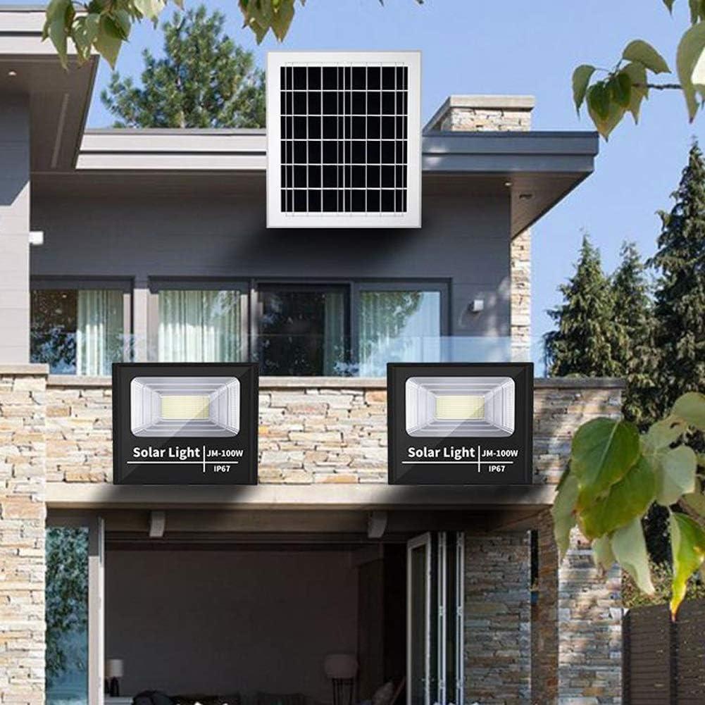 H-XH 400W Solar Foco Proyector LED Exterior, IP67 a Prueba de Agua 6000K Blanco de luz Diurna Brillante estupendo Luces Seguridad, puntual Luces de la Calle,césped,jardín,Granja (Color : 400w): Amazon.es: Iluminación