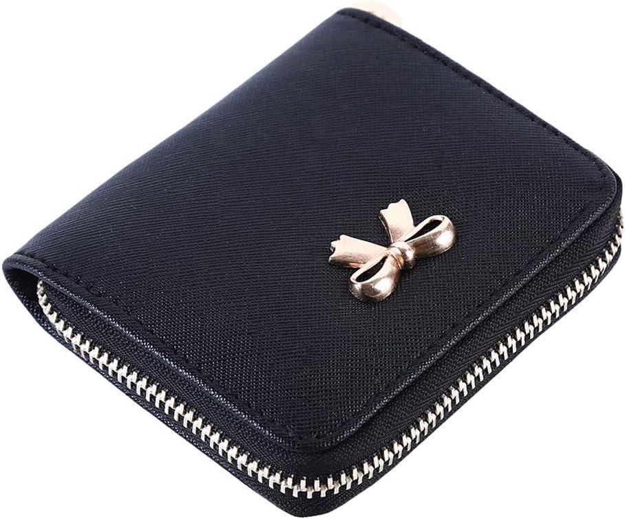 Sperrins Porte-Monnaie pour Femmes avec Porte-Monnaie zipp/é et Fermeture /à glissi/ère Courte Sacs /à Main Bleu Marine