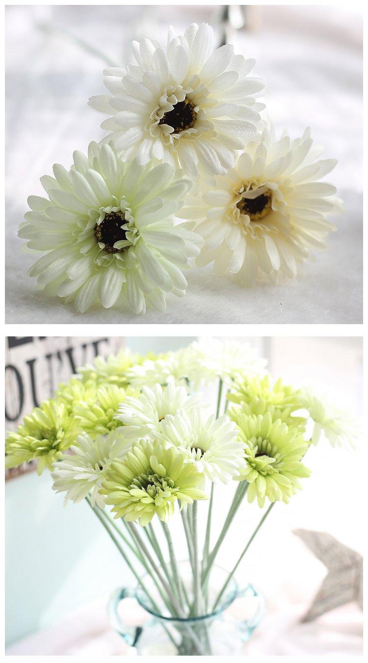 1 Pcs Simulation De Tournesol Fleur Gerbera Exportation Home D E