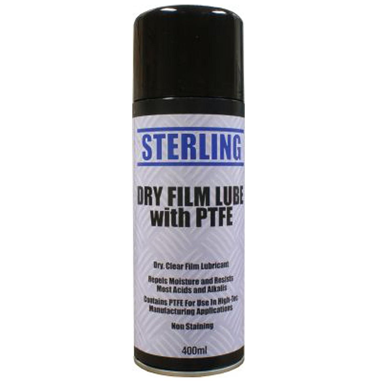 1 x 400ml 400g DRY FILM LUBE SPRAY AEROSOL LUBRICANT COATING OIL CAR BIKE PTFE All Trade Direct