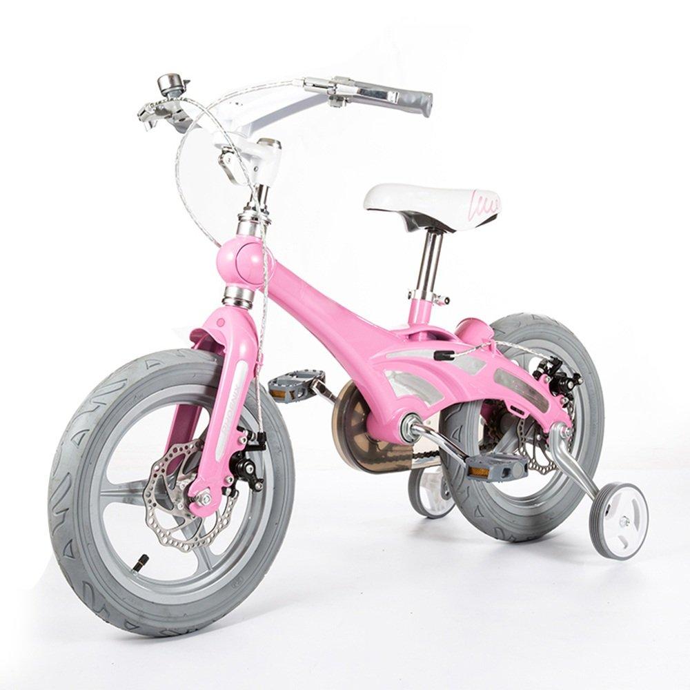 HAIZHEN マウンテンバイク 子供用自転車 ライトマグネシウムフレーム スタビライザー 新生児 B07CCJGW3R ピンク ぴんく ピンク ぴんく