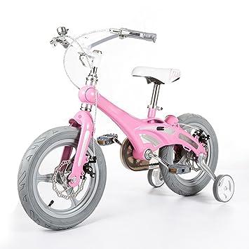 Bicicletas YANFEI Niños - Bastidor de magnesio liviano - Estabilizador Regalo para Niños (Color : Pink): Amazon.es: Deportes y aire libre