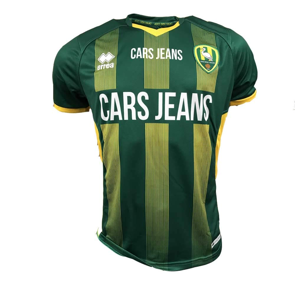 Errea 2018-2019 ADO den HAAG Home Football Soccer T-Shirt Maglia