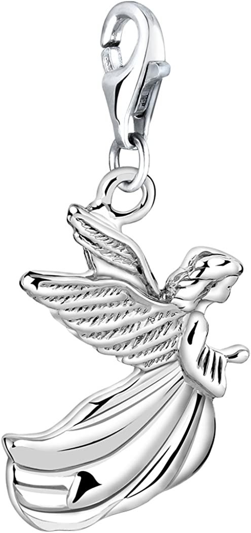 Nenalina Pendentif Charm Ange en 925 pour Tous Les Bracelets Charm 713190-000