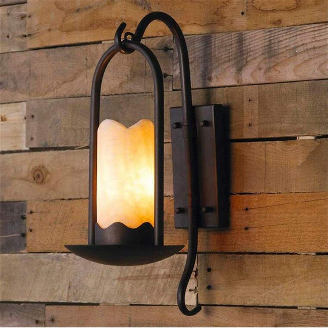 Industrial Antique Wall Lamp Iron 520  280Mm Living Room Bedroom Corridor Staircase Wall Lamp [Energy Class A+++]